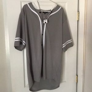 Carbon T-shirt hoodie